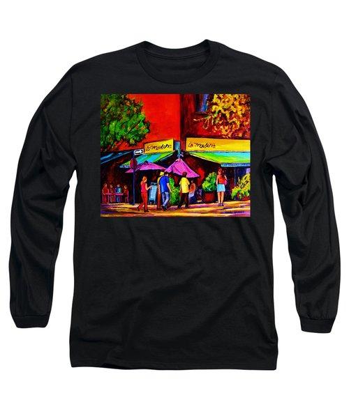 Cafe La Moulerie On Bernard Long Sleeve T-Shirt