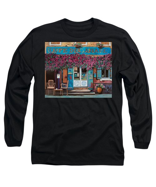 caffe del Aigare Long Sleeve T-Shirt