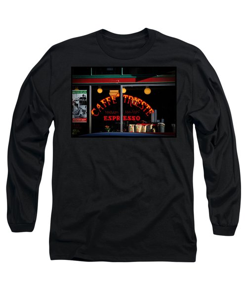 Caffe Trieste Espresso Window Long Sleeve T-Shirt
