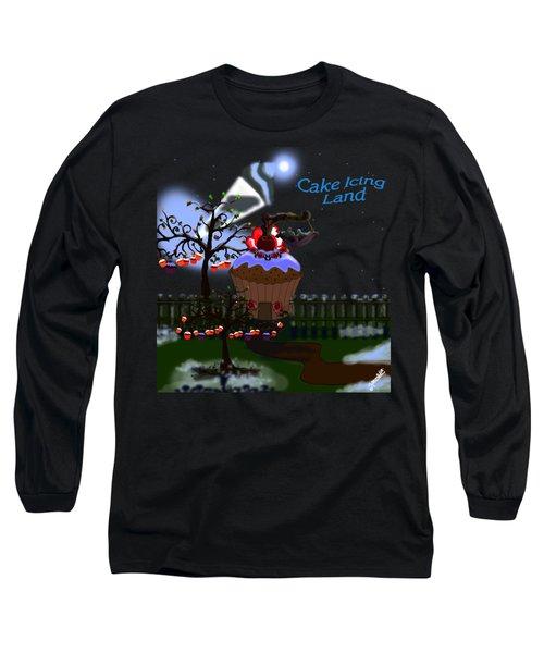 Cake Icing Land Long Sleeve T-Shirt