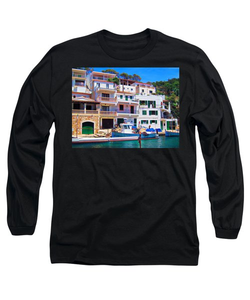Cala Figuera Long Sleeve T-Shirt by Andreas Thust