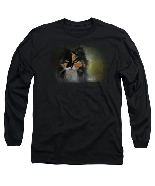 Calico Stare Long Sleeve T-Shirt