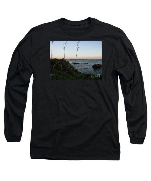 California At Twilight Long Sleeve T-Shirt by Mini Arora