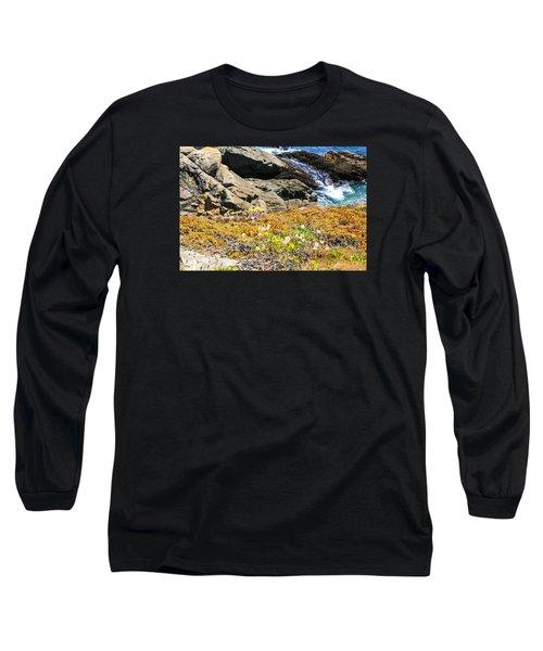 California Coastal Flora Long Sleeve T-Shirt