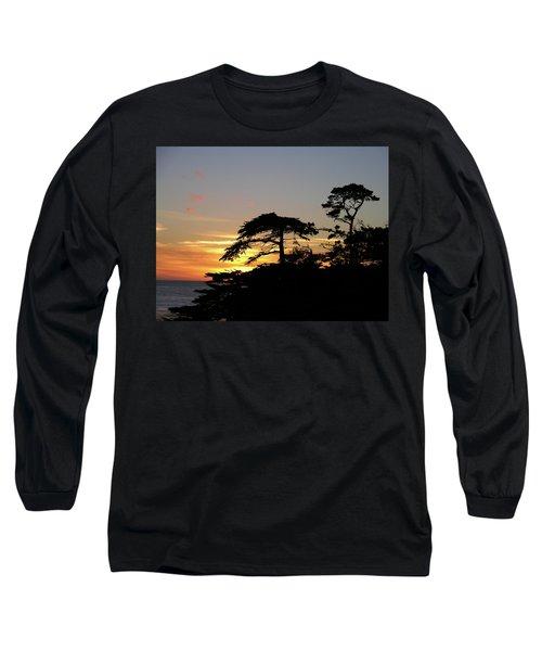 California Coastal Sunset Long Sleeve T-Shirt