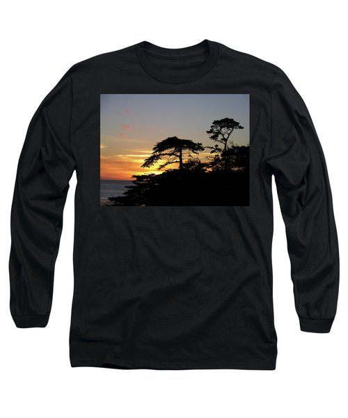 California Coastal Sunset Long Sleeve T-Shirt