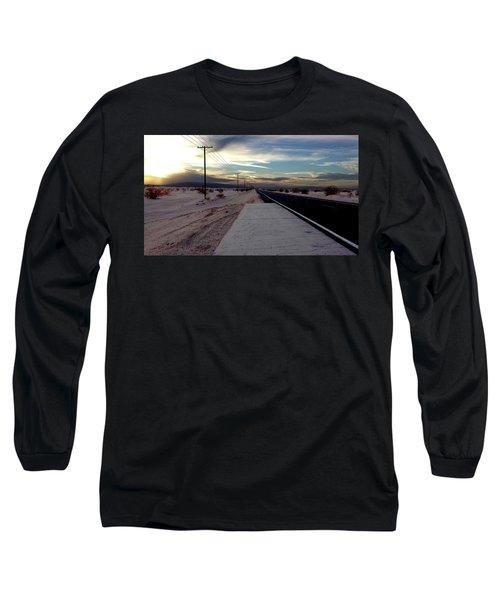 California Desert Highway Long Sleeve T-Shirt