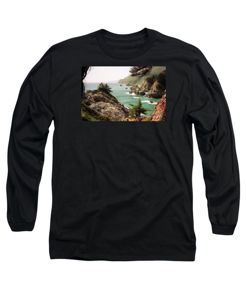 California Highway 1 Coast Long Sleeve T-Shirt