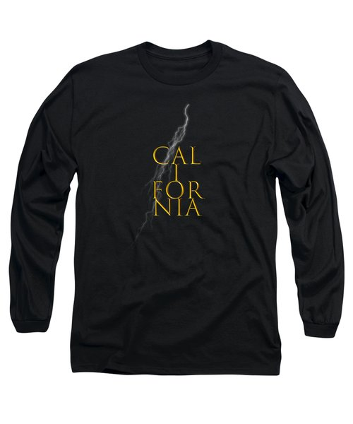 California Text Long Sleeve T-Shirt