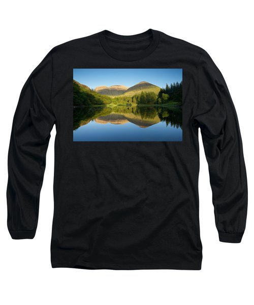 Californian Summer In Glencoe Long Sleeve T-Shirt by Stephen Taylor