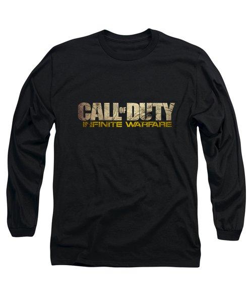 Call Of Duty Long Sleeve T-Shirt by Ryan Tubilan