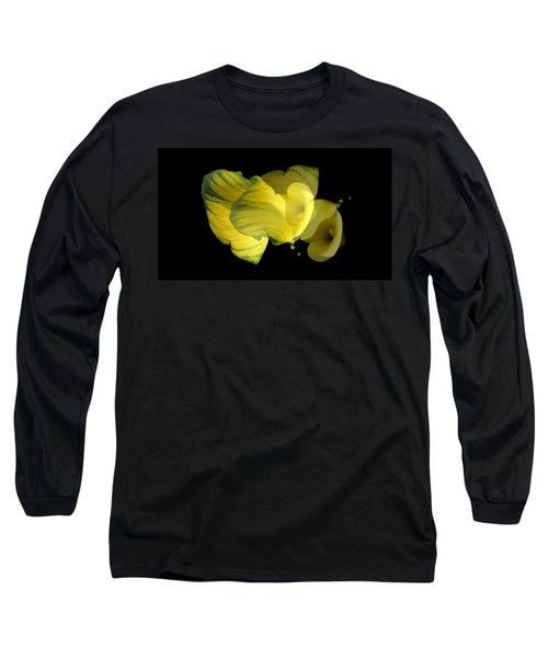 Calla Lily Long Sleeve T-Shirt by Mike Breau