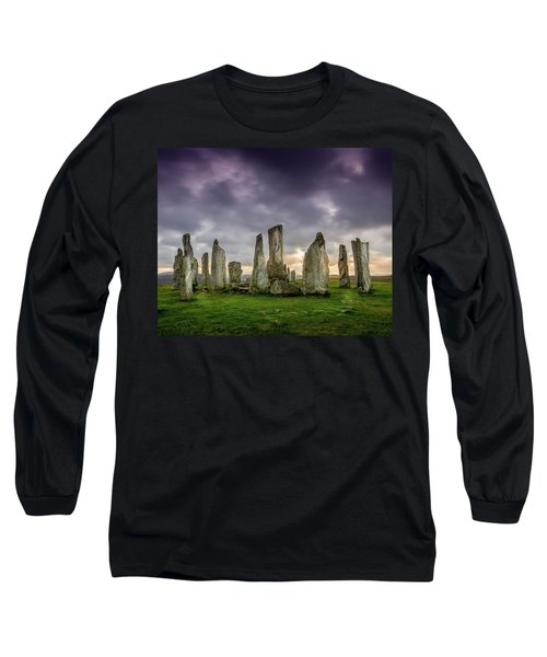Callanish Stone Circle, Scotland Long Sleeve T-Shirt