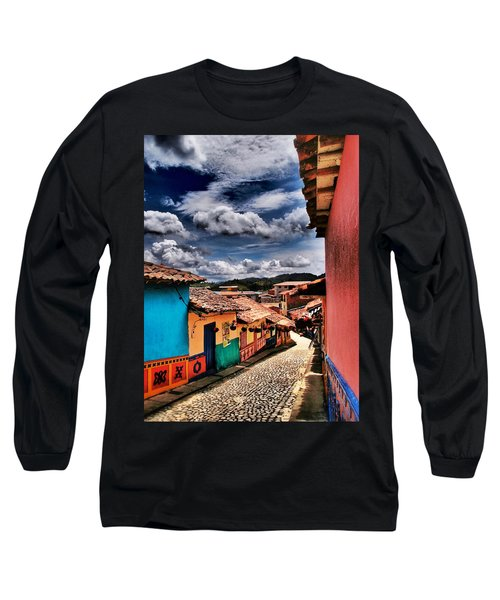 Calle De Colores Long Sleeve T-Shirt