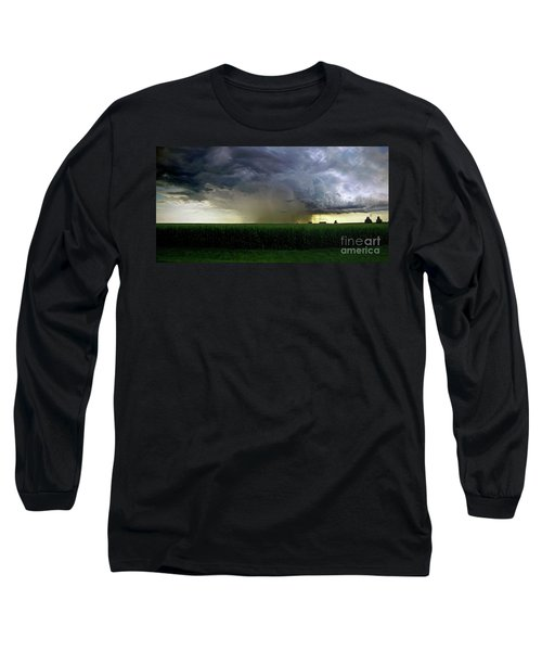 Calm Before The Storm Long Sleeve T-Shirt by Sue Stefanowicz