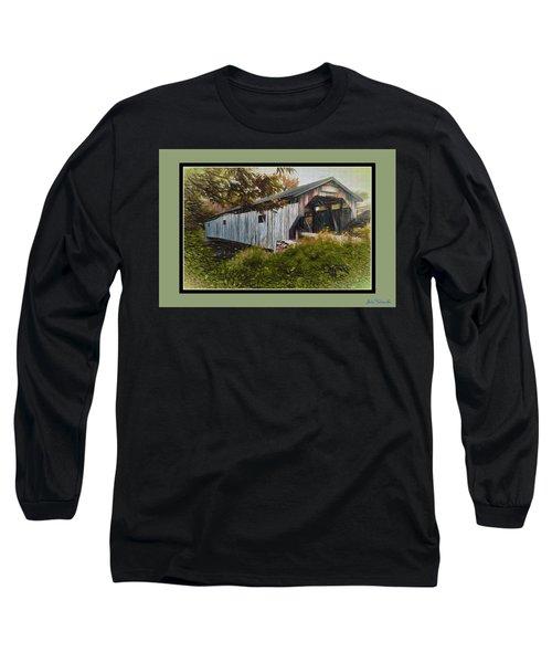 Cambridge Jct. Bridge Long Sleeve T-Shirt by John Selmer Sr
