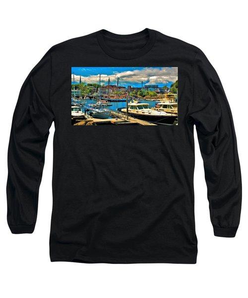 Camden Harbor Long Sleeve T-Shirt