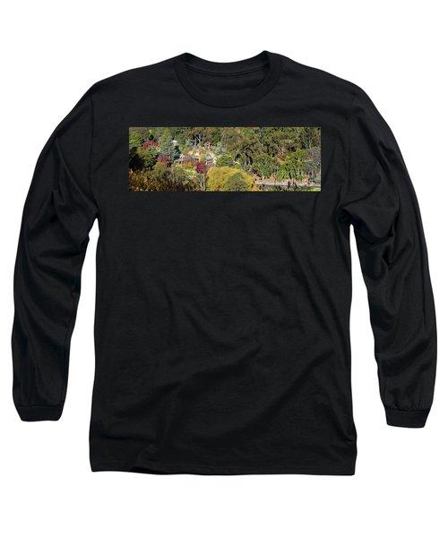 Camelot Castle, Basket Range Long Sleeve T-Shirt by Bill Robinson