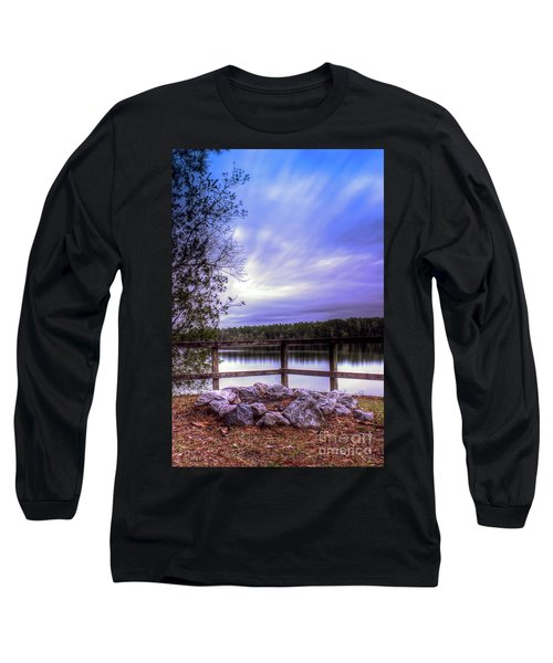 Camp Ground Long Sleeve T-Shirt by Maddalena McDonald