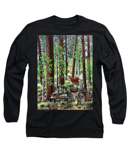 Camping Paradise Long Sleeve T-Shirt