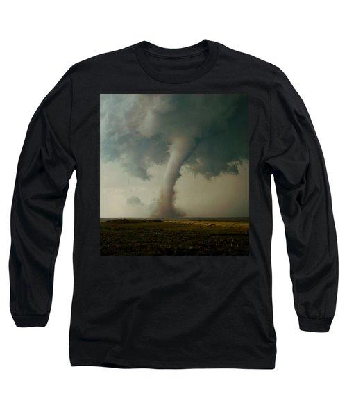Campo Tornado Long Sleeve T-Shirt by Ed Sweeney