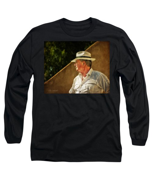 Canadian Artist In Provence Long Sleeve T-Shirt by CR  Courson