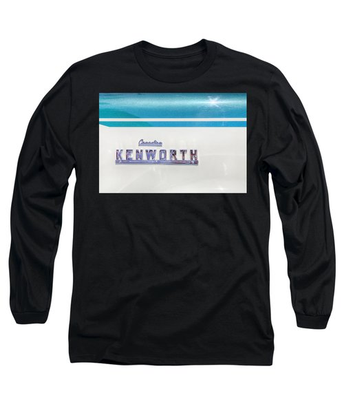 Canadian Kenworth Long Sleeve T-Shirt