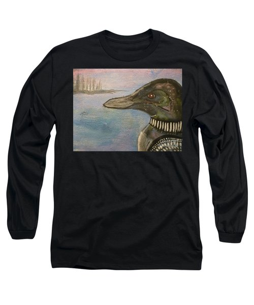 Canadian Loon Long Sleeve T-Shirt