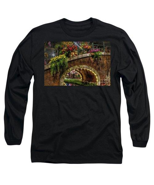 Canal And Bridge  Long Sleeve T-Shirt