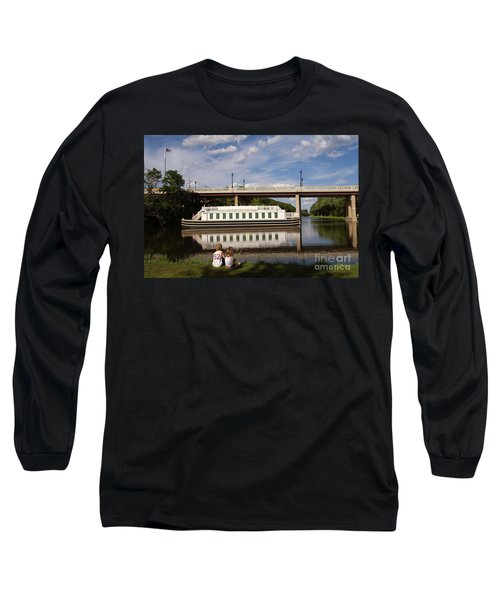 Canal Boat  Long Sleeve T-Shirt