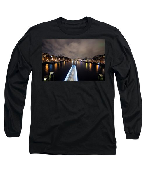 Canal Streaking I Long Sleeve T-Shirt