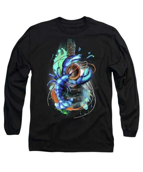 Cancer Long Sleeve T-Shirt by Melanie D