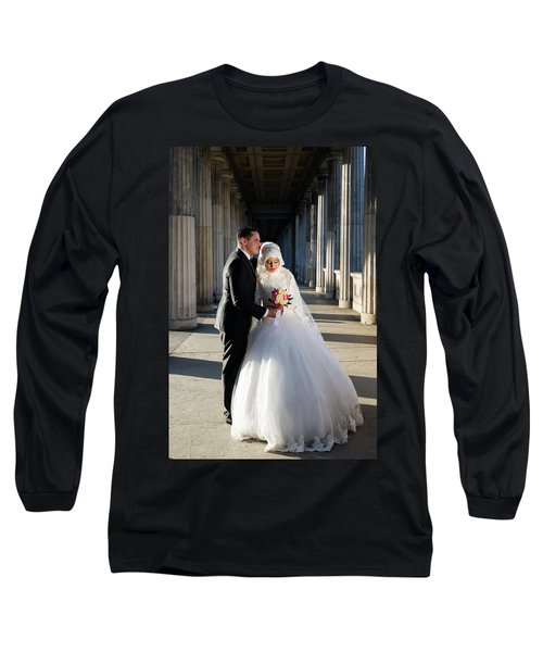 Candid Wedding Shot Long Sleeve T-Shirt