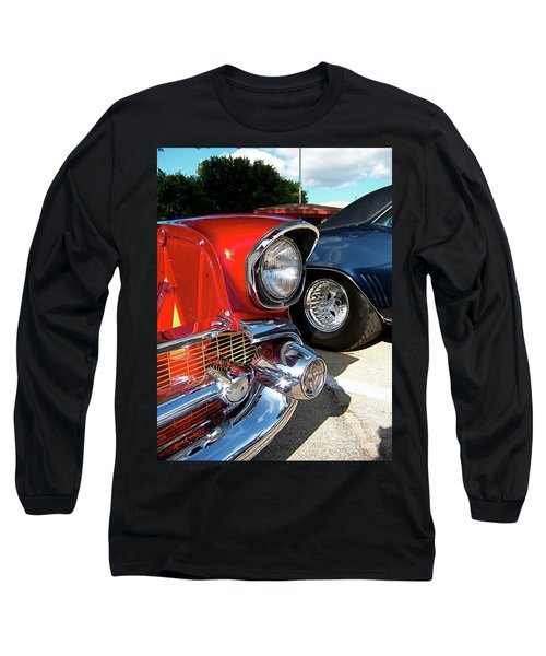 Candy Apple 57 Long Sleeve T-Shirt by Sue Stefanowicz
