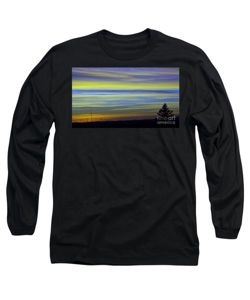 Long Sleeve T-Shirt featuring the photograph Candy Sky 1 by Victor K