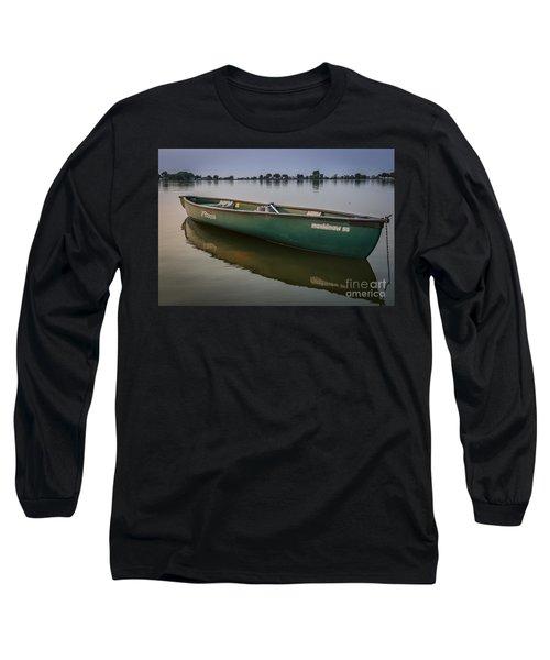 Canoe Stillness Long Sleeve T-Shirt