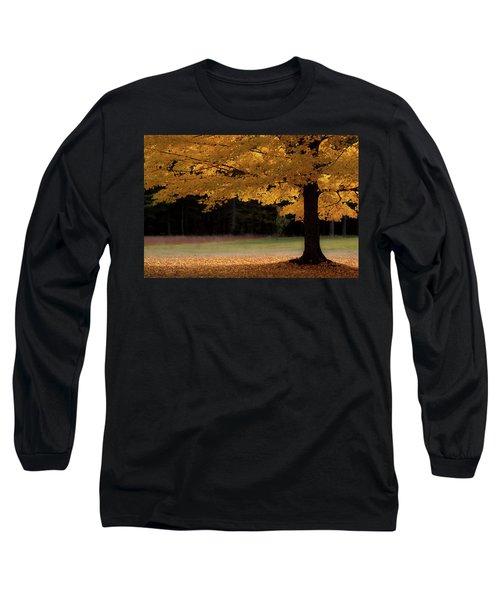 Canopy Of Autumn Gold Long Sleeve T-Shirt