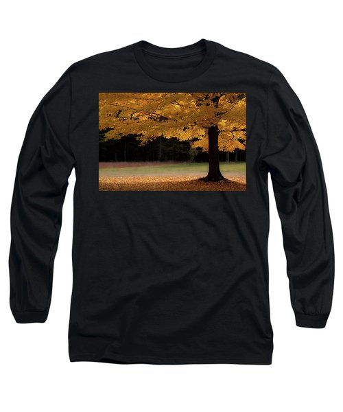 Canopy Of Autumn Gold Long Sleeve T-Shirt