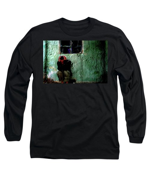 Long Sleeve T-Shirt featuring the photograph Can't Escape The Madness by Gray  Artus