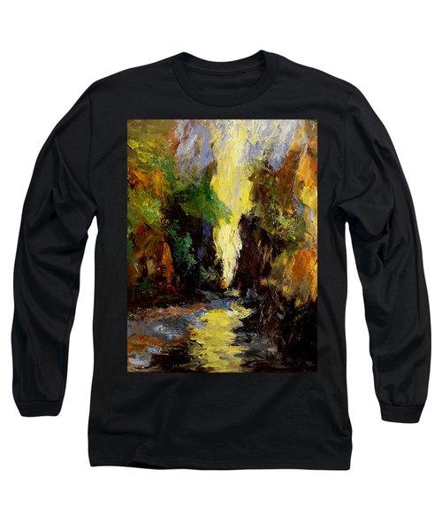 Canyon Creek Long Sleeve T-Shirt by Gail Kirtz