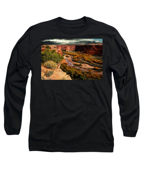 Canyon De Chelly Long Sleeve T-Shirt by Harry Spitz