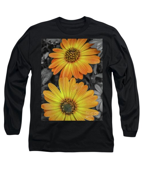Cape Daisy's - Orange Long Sleeve T-Shirt