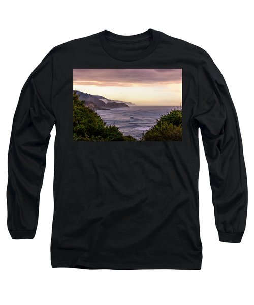 Cape Perpetua, Oregon Coast Long Sleeve T-Shirt