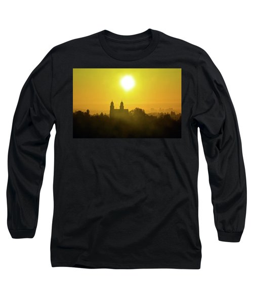 Capitol Hill Sunrise   Long Sleeve T-Shirt