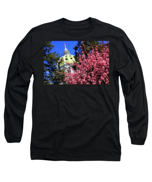 Capitol In Bloom Long Sleeve T-Shirt