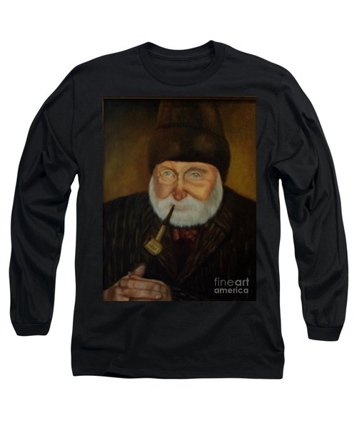 Cap'n Danny Long Sleeve T-Shirt by Marlene Book
