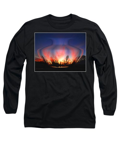 Long Sleeve T-Shirt featuring the photograph Capricorn Morning by Joyce Dickens