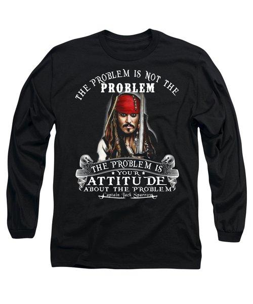 Captain Jack Sparrow Long Sleeve T-Shirt by Smith