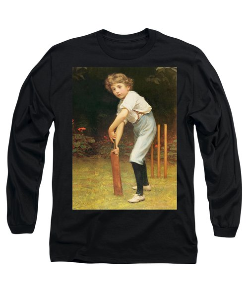 Captain Of The Eleven Long Sleeve T-Shirt by Philip Hermogenes Calderon