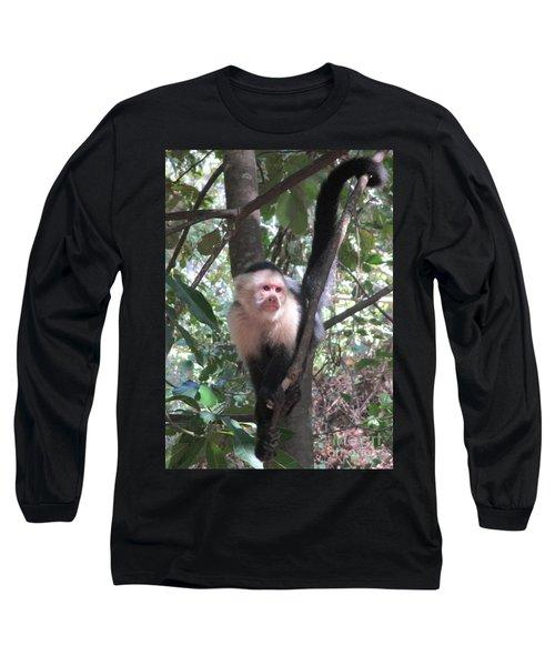Capuchin Monkey 4 Long Sleeve T-Shirt